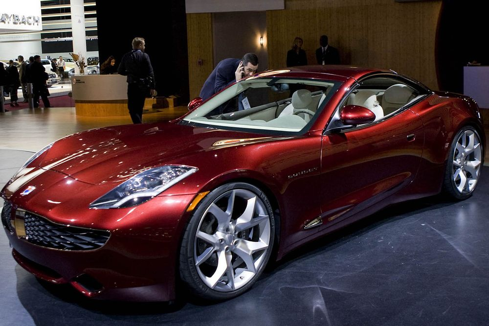 Famous Car Designer, H. Fisker, to use UCLA Battery Technology in New All ElectricVehicle